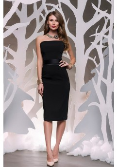 Elegant Black Pencil Dress